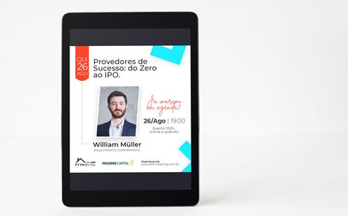 """Prosper Capital apresenta palestra """"Provedores de sucesso: do zero ao IPO"""" no FTTH Meeting"""