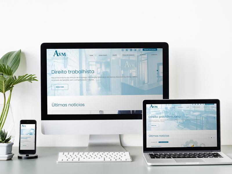 AVM Advogados lança novo site, marcando 15 anos de atuação do escritório