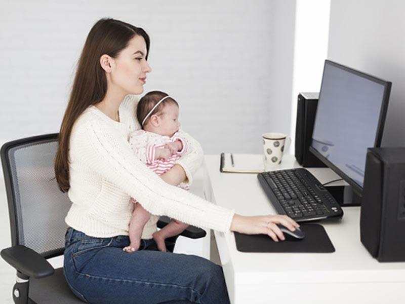 Justiça do Trabalho garante a mães o direito de permanecer em home office
