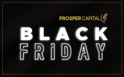 Black Friday Prosper com 40% de desconto