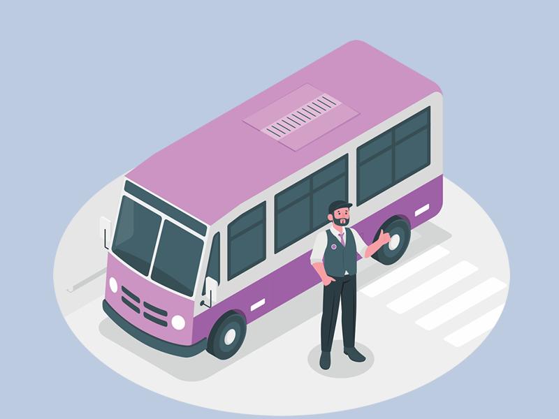 Confirmada contagem de tempo especial e concedida aposentadoria para cobrador de ônibus